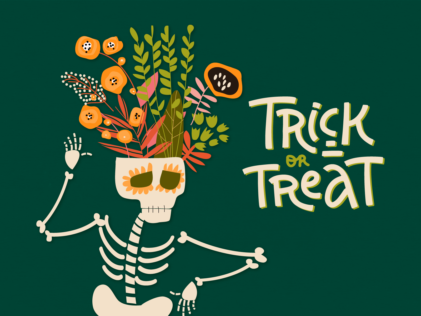 Trick or Treat? by Erika Mackley