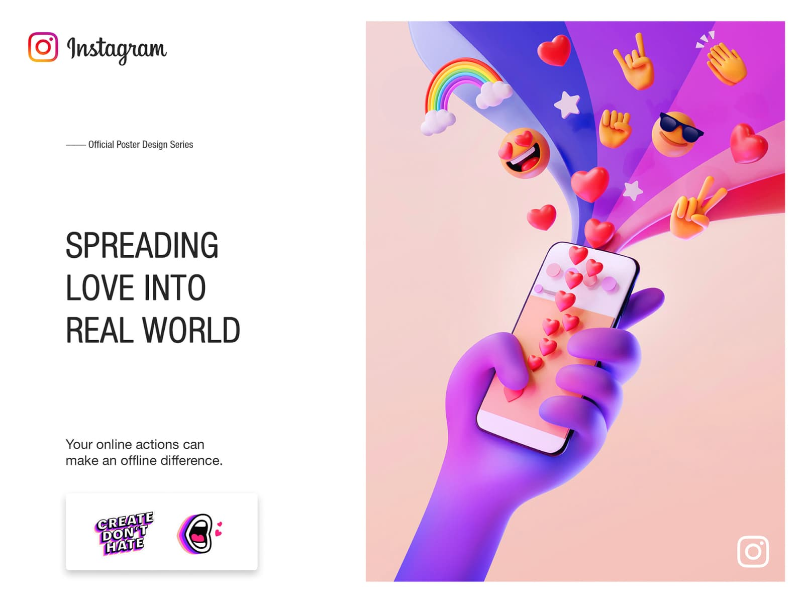 Instagram Anti-Bullying by Leo Natsume