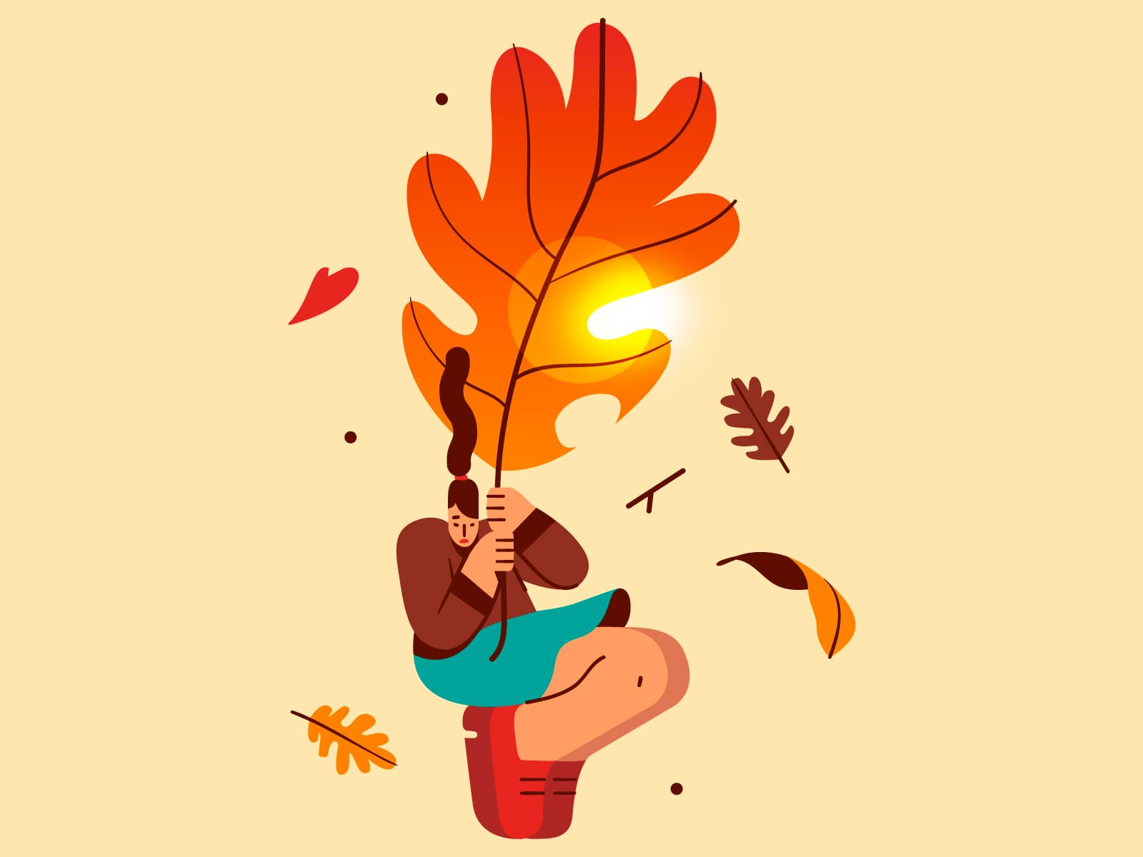 First day of Fall � by Gaspart