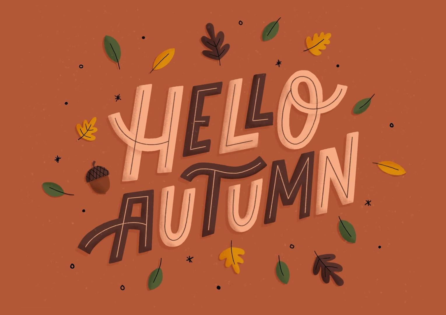 30 Adorable Autumn Illustrations