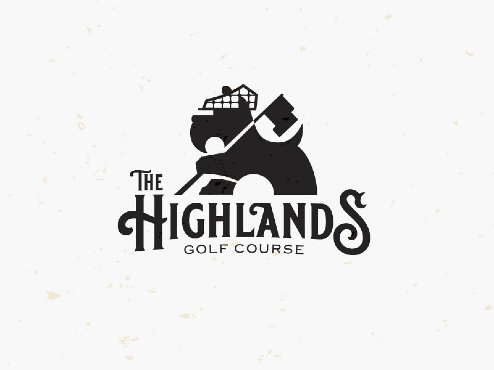 The Highlands - Golf Course by Mike Bruner