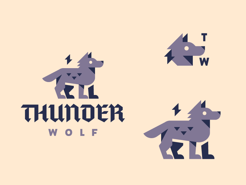 Thunder Wolf by Defaced