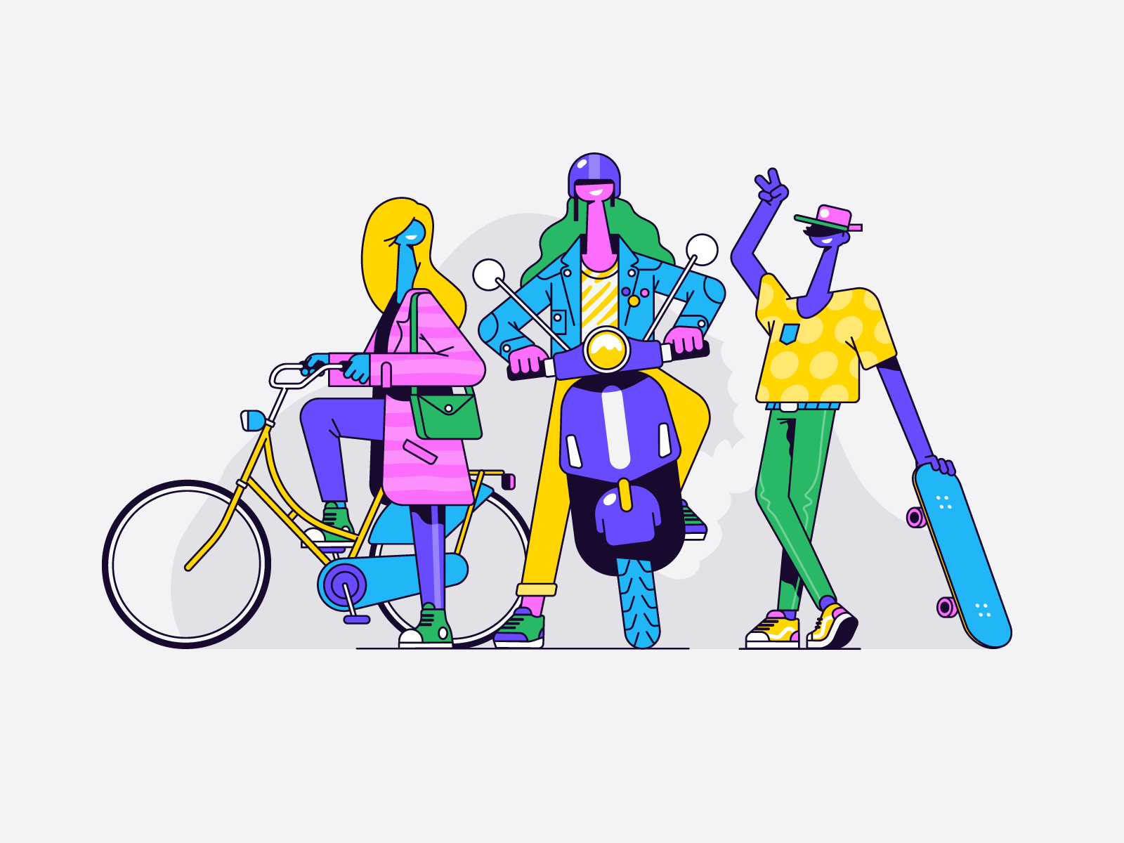 The cool kids by Patswerk