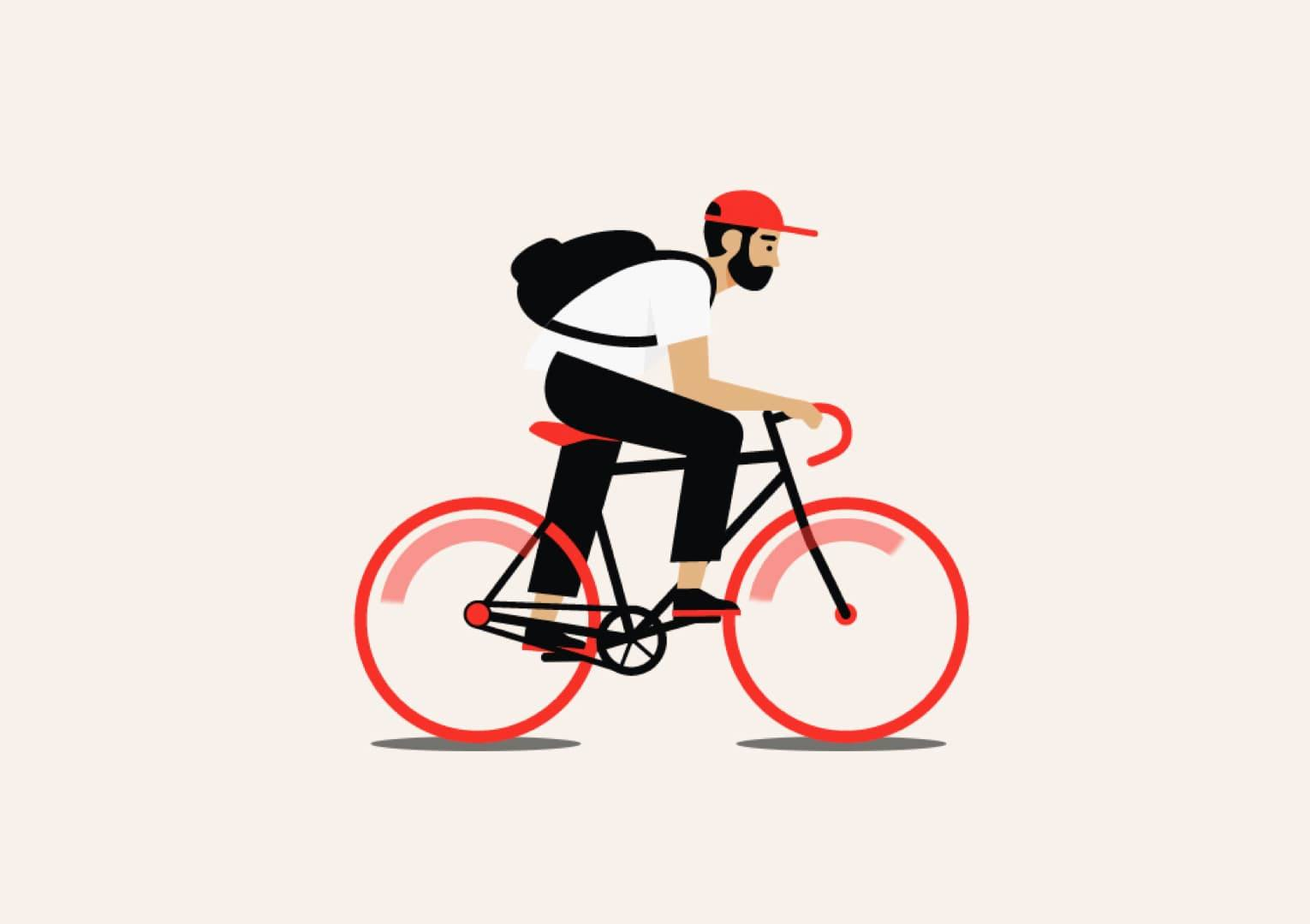 35 Outstanding Bicycle Illustrations