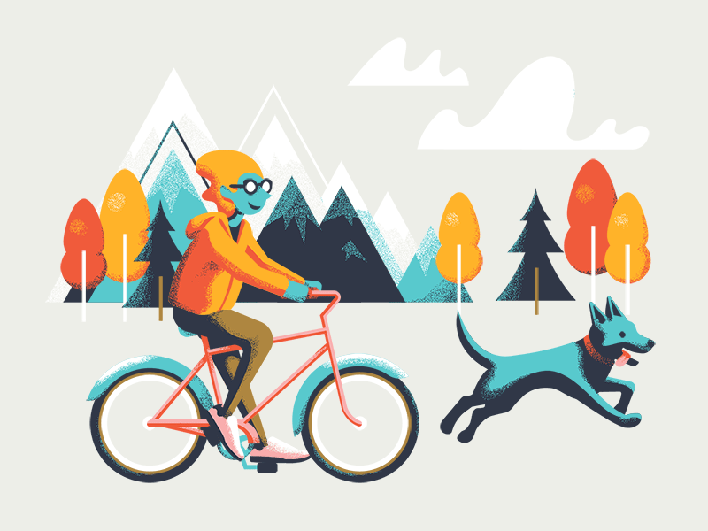 Joany and the Bike Ride by Tatiana Bischak