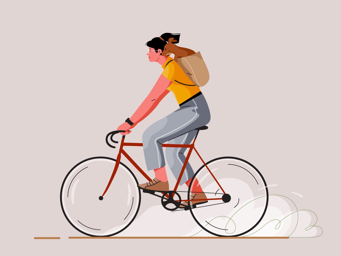 Cycling by Cami