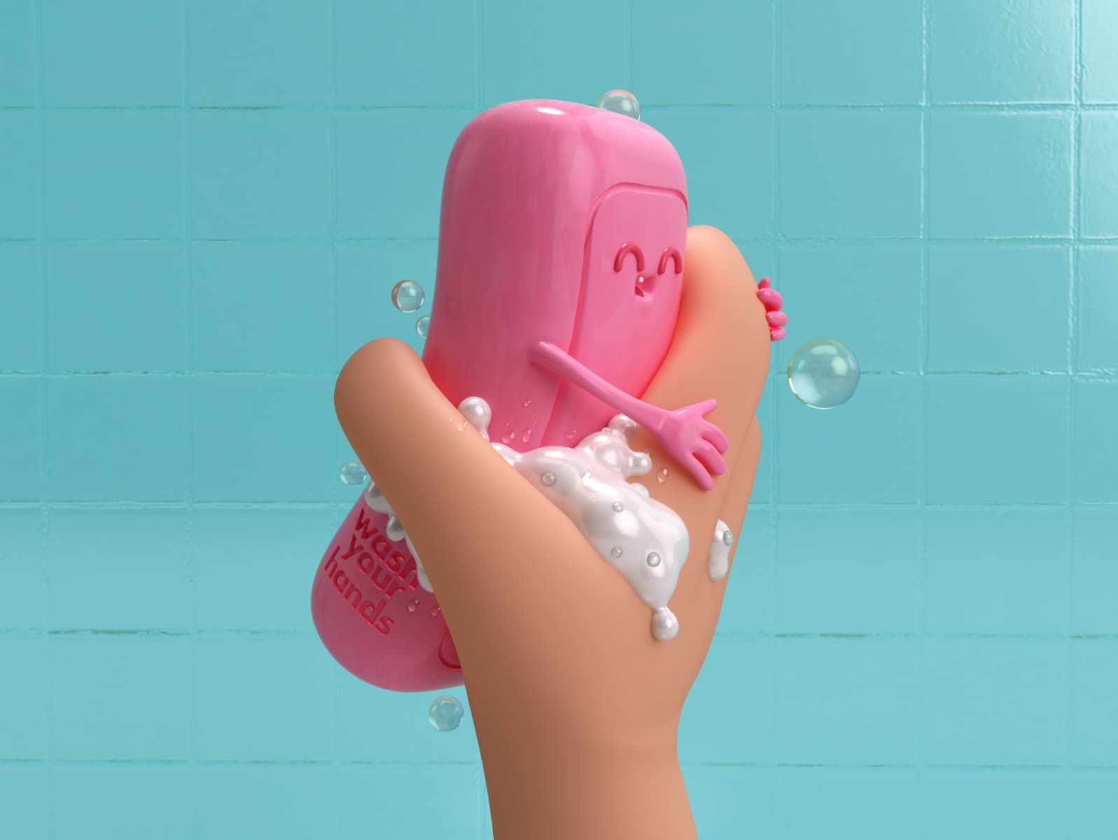 Wash your f*cking hands by Luis Del Castillo