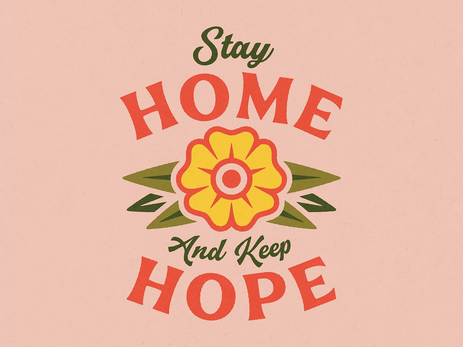 Stay Home, Keep Hope by Tracy Niven