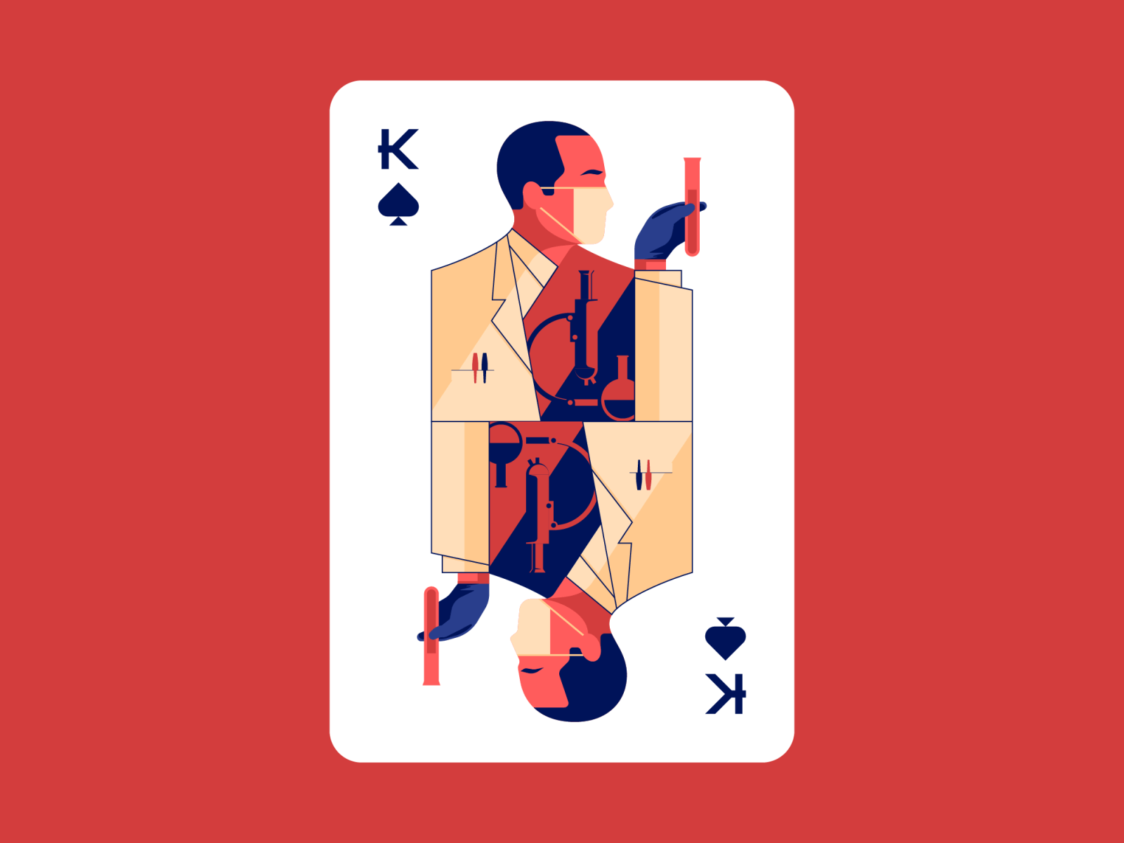 Scientist, the King of Spades. by SixtyFire