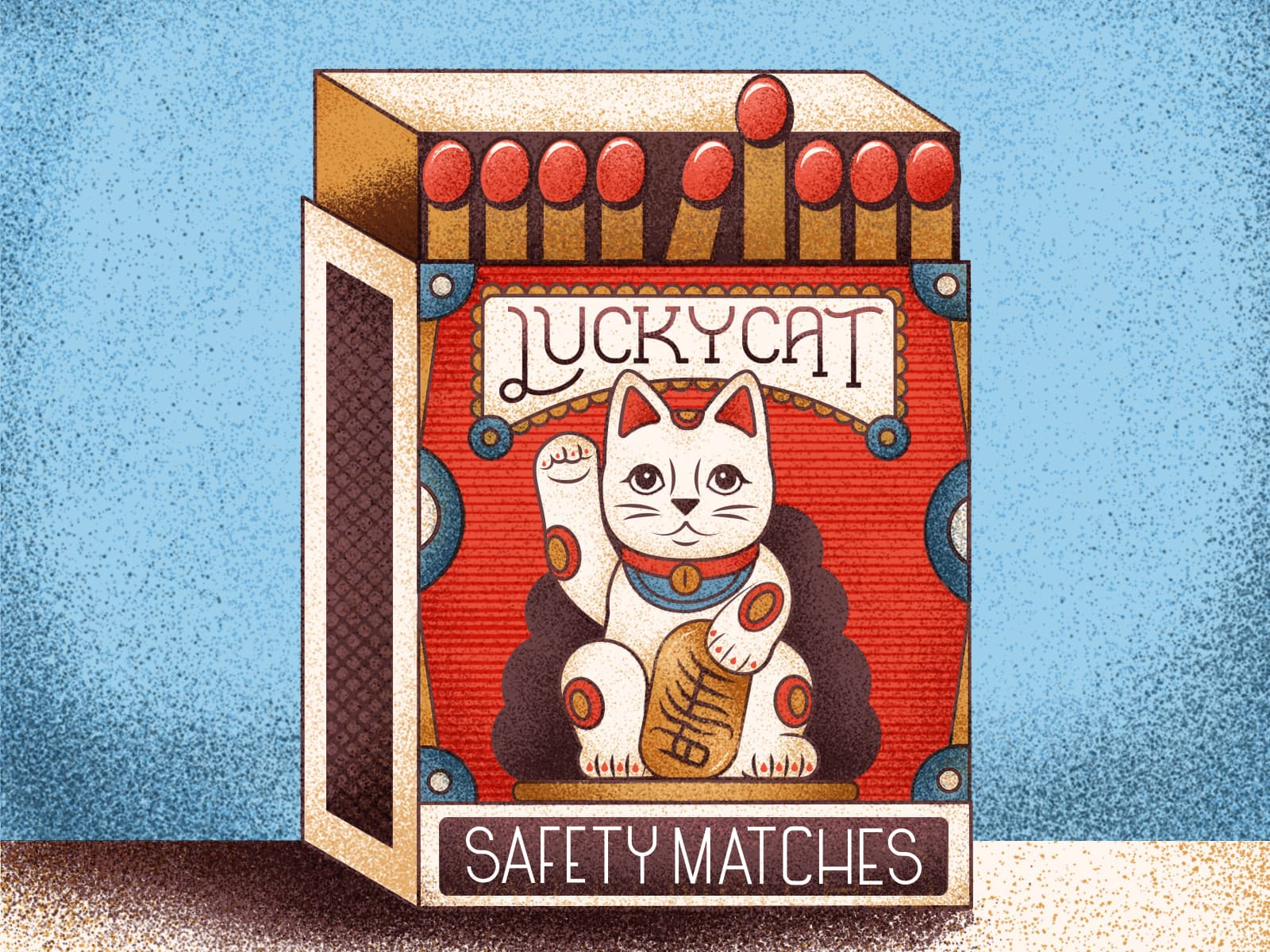 Lucky Cat Strikes Again by MUTI