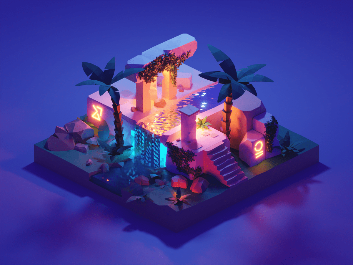 Forgotten Temple by Roman Kl�o