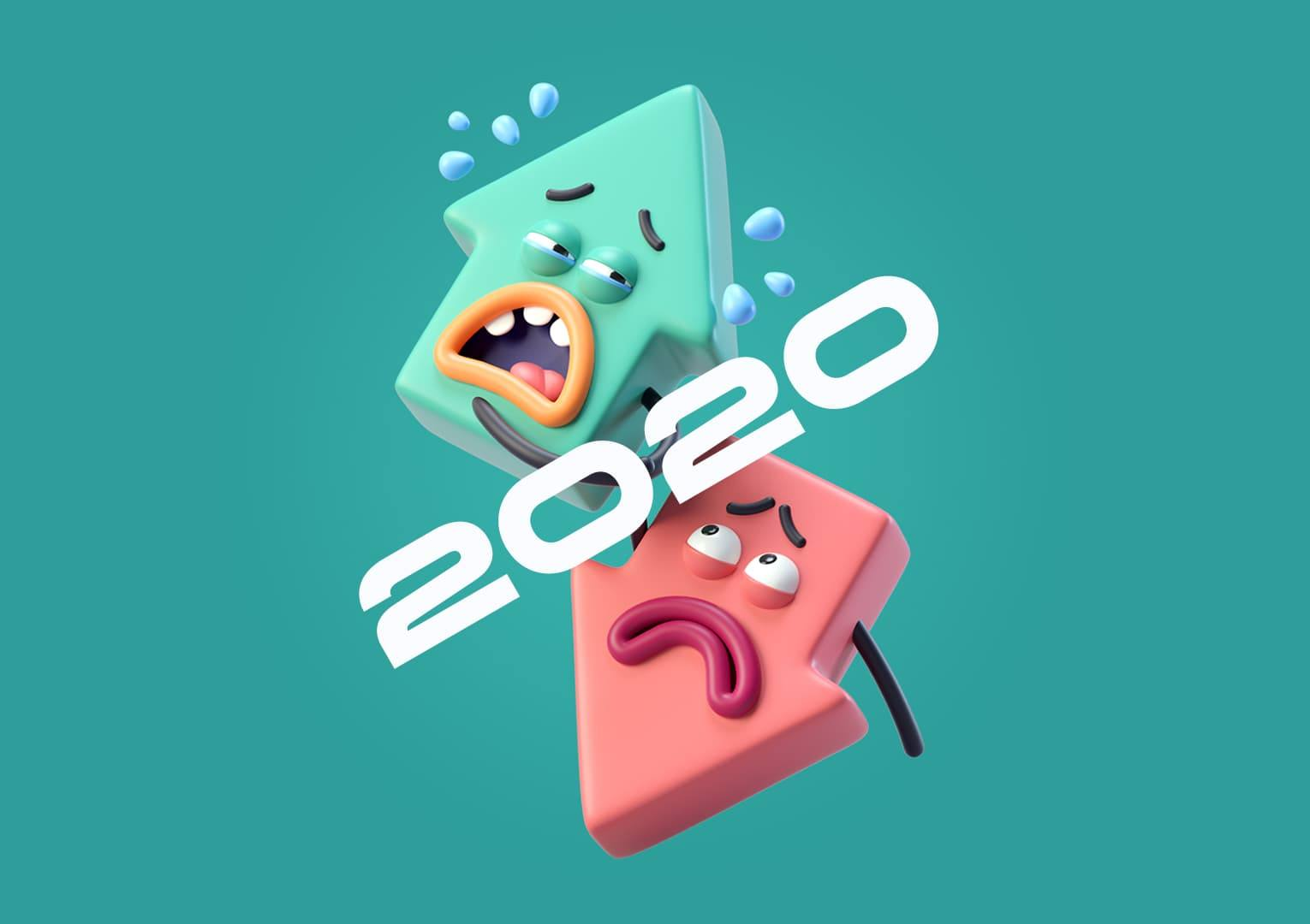 Design trend 2020: 3D Illustrations