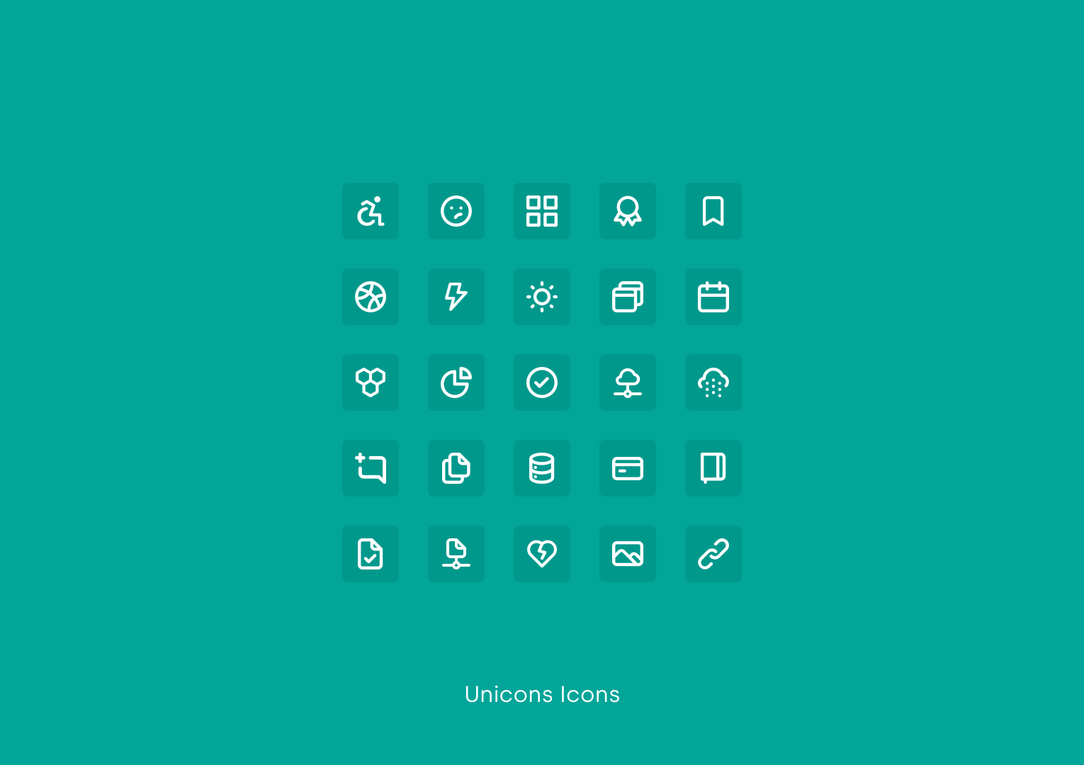 Unicons Icons by Iconscout