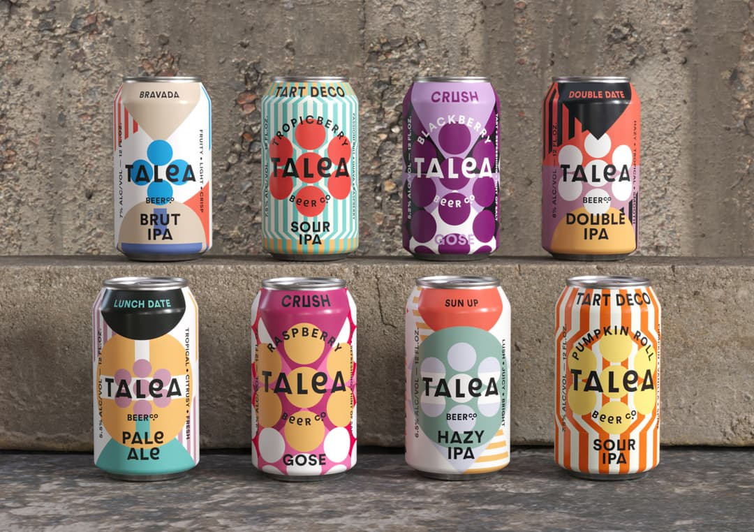 TALEA Beer Co by IWANT Design